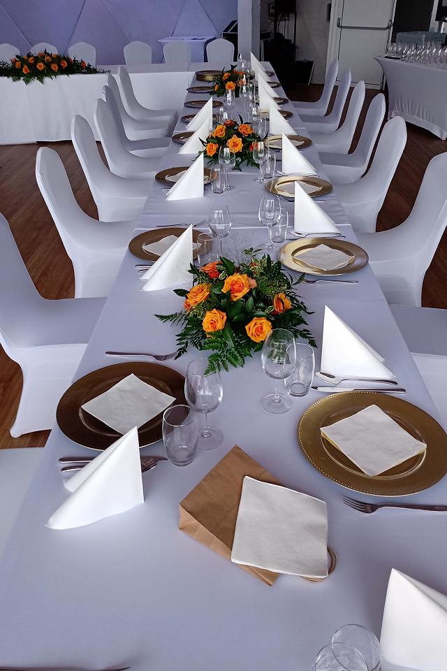 Stroik na stoliki dla gości - wrzesień 2021r.